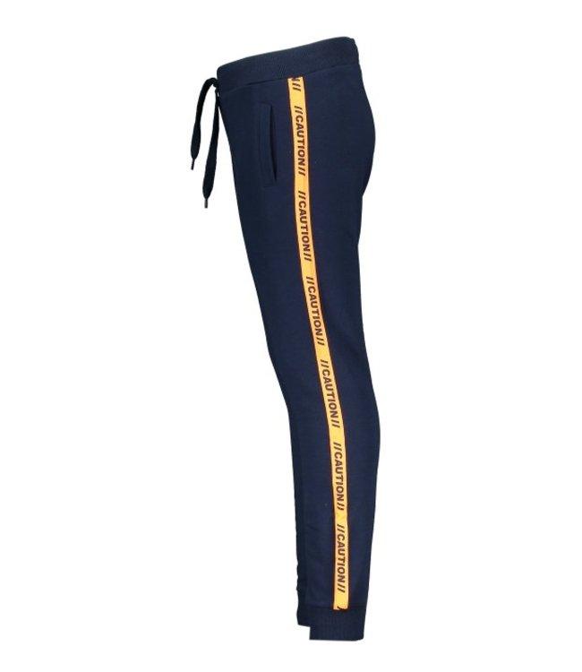 Tygo & Vito T&v jog pants contrast tape Navy X108-6620 190