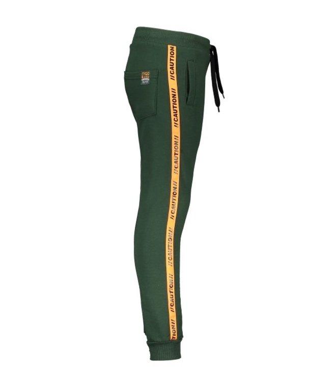 Tygo & Vito T&v jog pants contrast tape Green X108-6620 360