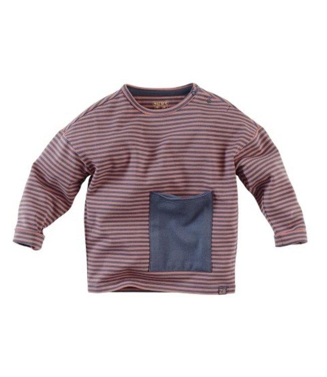 Z8 Z8 Mini Boys sweater Jafar Red rust/Nighty knight