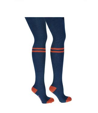 B.Nosy B-nosy Girls B.tough thight with 2 sporty stipes lake blue Y108-5942 159