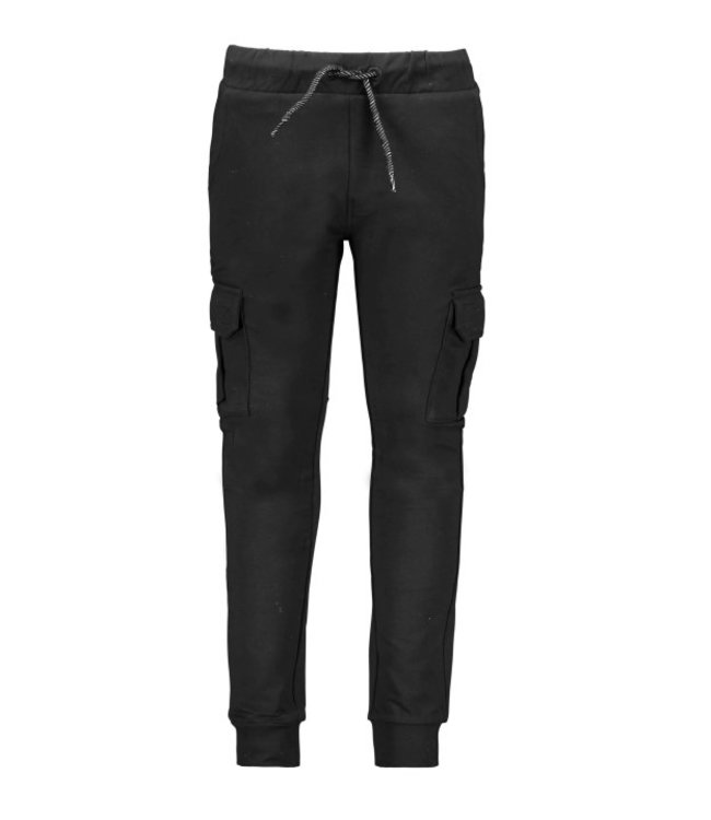 B.Nosy B-nosy Boys sweat pants with patched pockets Black Y108-6624 099