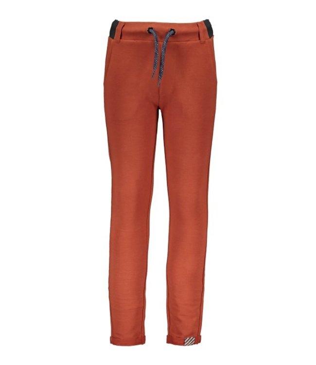 B.Nosy B-nosy Boys sweat pants with folded hem brique Y108-6625 223