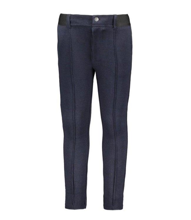 B.Nosy B-nosy Boys check pants clever black/blue check Y108-6620 181