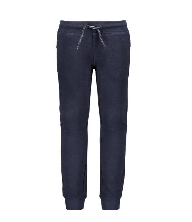 B.Nosy B-nosy Boys pique pant with elasticated wb and hem ink blue Y108-6612 109