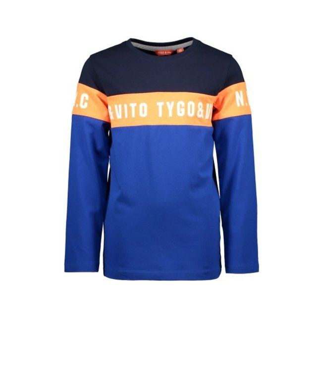 Tygo & Vito T&v Longsleeve cut&sewn Navy X108-6427 190