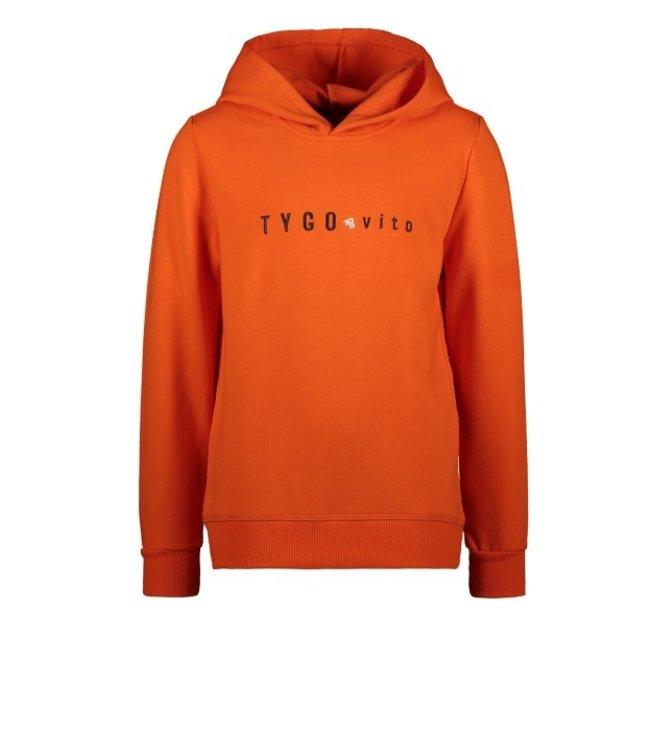 Tygo & Vito T&v hoody TYGO & vito embro Orange X109-6327 550
