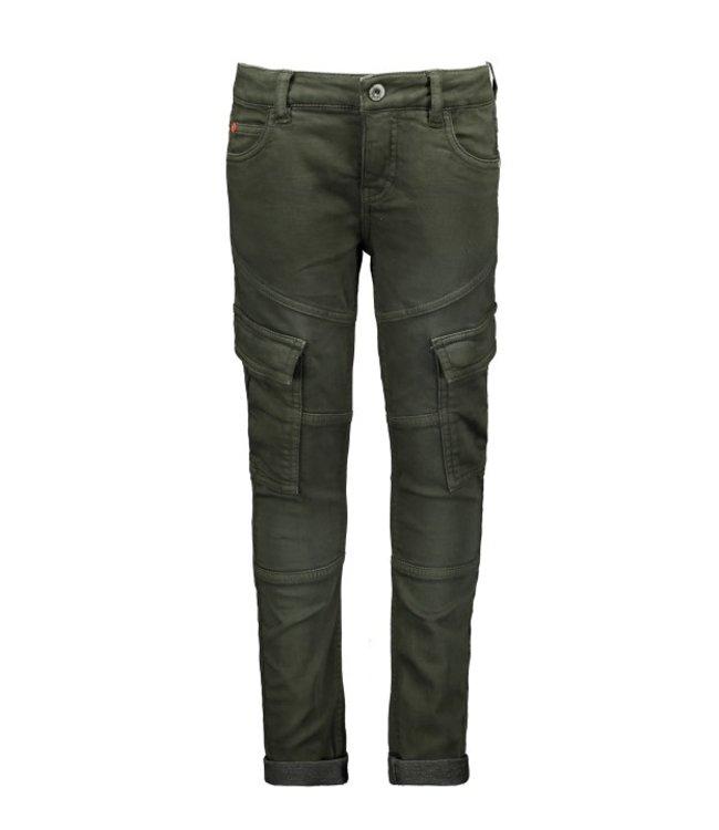 Tygo & Vito T&v fancy cargo jog jeans Dark Army X109-6645 365