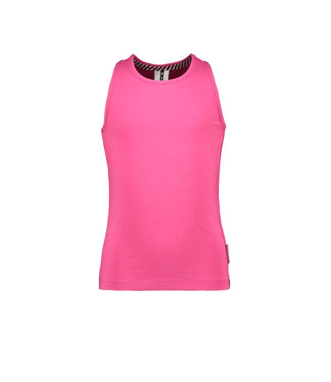 B.Nosy B-nosy Girls tanktop Beetroot pink Y108-5423 217