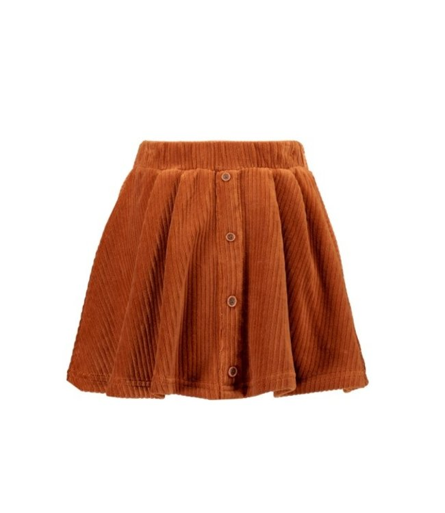 B.Nosy B-nosy Girls a-line corduroy skirt with button closure and belt Camel Y108-5742 575