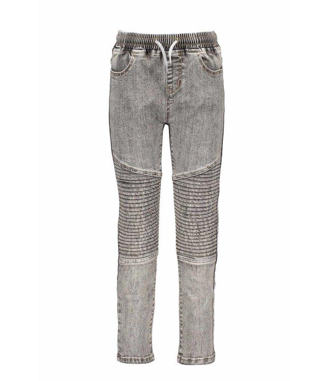 B.Nosy B-nosy Boys denim pants with folded knee parts you denim Y108-6621 054