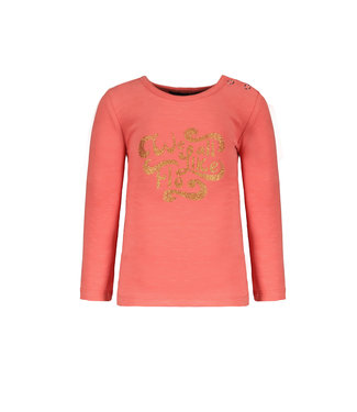 Like Flo Flo baby girls jersey tee coral F108-7410 227