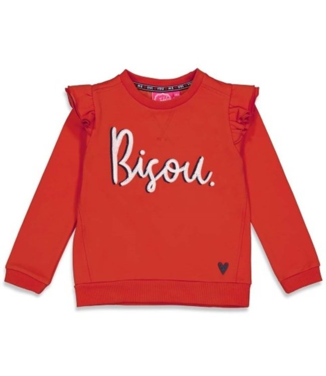Jubel Jubel Sweater - Club Amour Rood 91600291