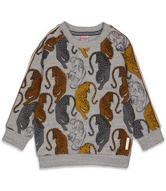 Sturdy Sturdy Sweater AOP - On A Roll Grijs melange 71600443