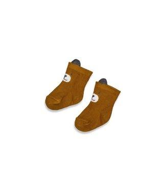 Feetje Feetje Sok - Griddly Bear Okergeel 50400161