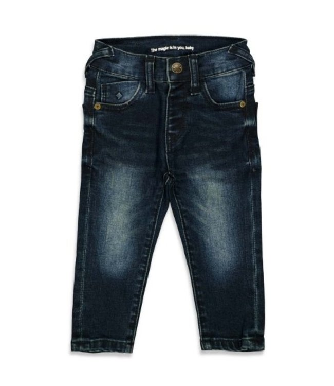 Feetje Feetje Slim fit denim boy - Feetje Denim d.Blauw denim 52201758