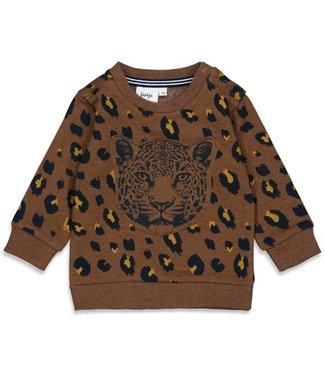 Feetje Feetje Sweater AOP - On A Roll Bruin 51601835