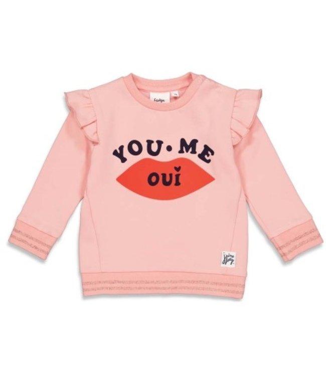 Feetje Feetje Sweater - Club Amour Roze 51601820