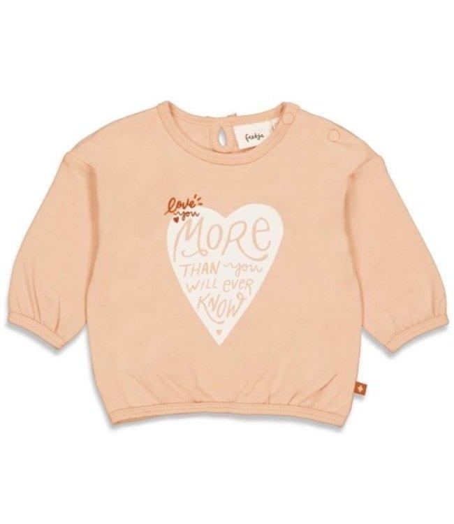 Feetje Feetje Sweater - Love You More Roze 51601801