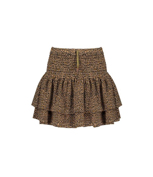 NoNo Nono Noor 2layered short skirt with smocked waistband