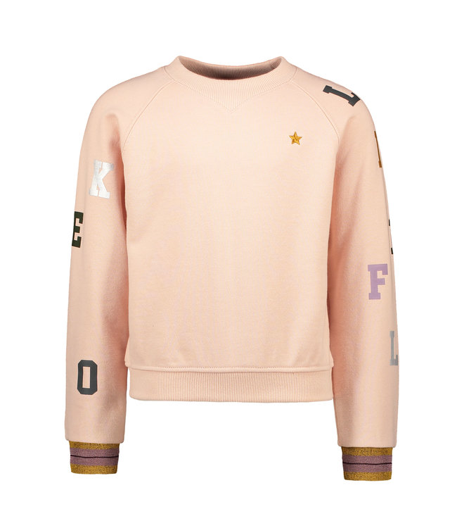 Like Flo Flo girls sweater MUSE old pink
