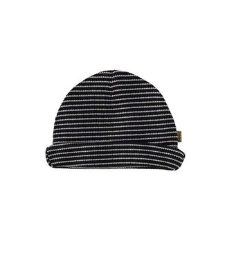 Bess Bess Hat Striped Waffle Anthracite 21244-003