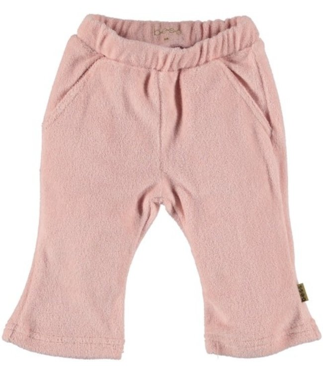Bess Bess Pants Flared Terry Pink 21234-007