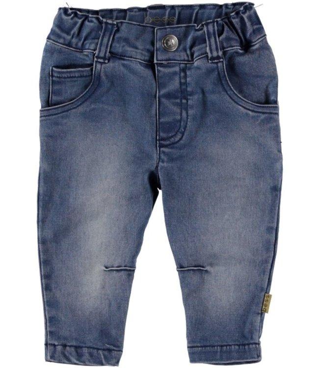 Bess Bess Pants 5-pocket Denim Stone Wash 21225-021
