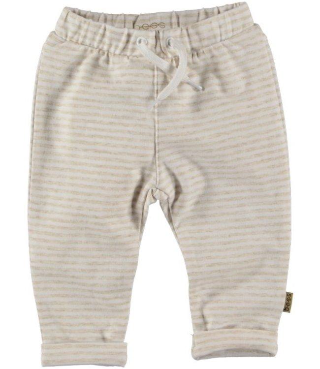 Bess Bess Pants Striped Off White 21224-034