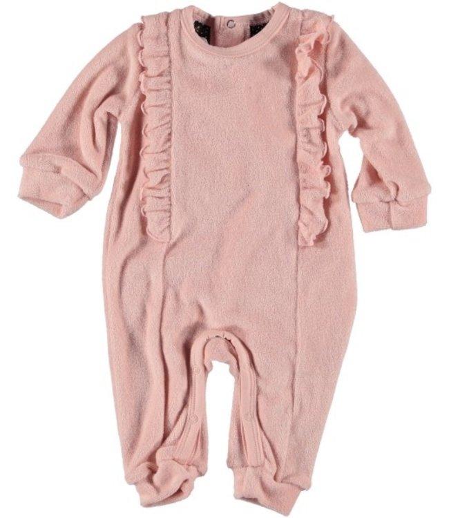 Bess Bess Suit l.sl. Terry Ruffles Pink 21221-007