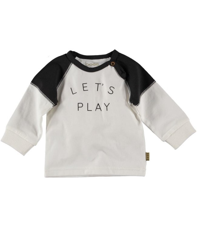 Bess Bess Shirt l.sl Let's Play Off White 21204-034