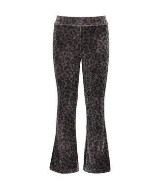 B.Nosy B-nosy Girls velvet flair pants power denim Y108-5630 069