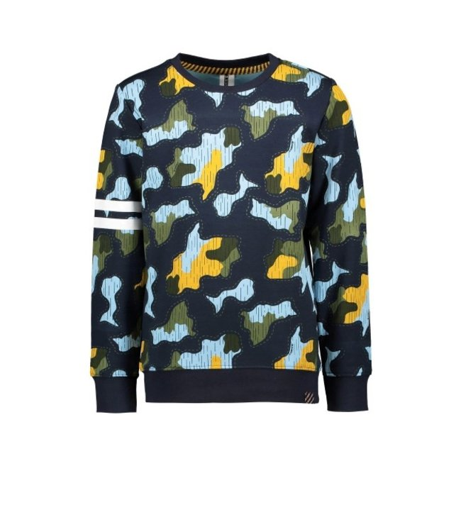 B.Nosy B-nosy Boys undercover camo crewneck sweater undercover camo Y109-6332 174