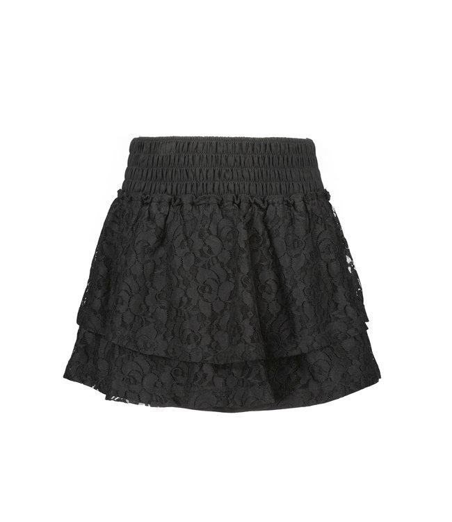 B.Nosy B-nosy Girls 2-layer lace skirt Black Y109-5772 099