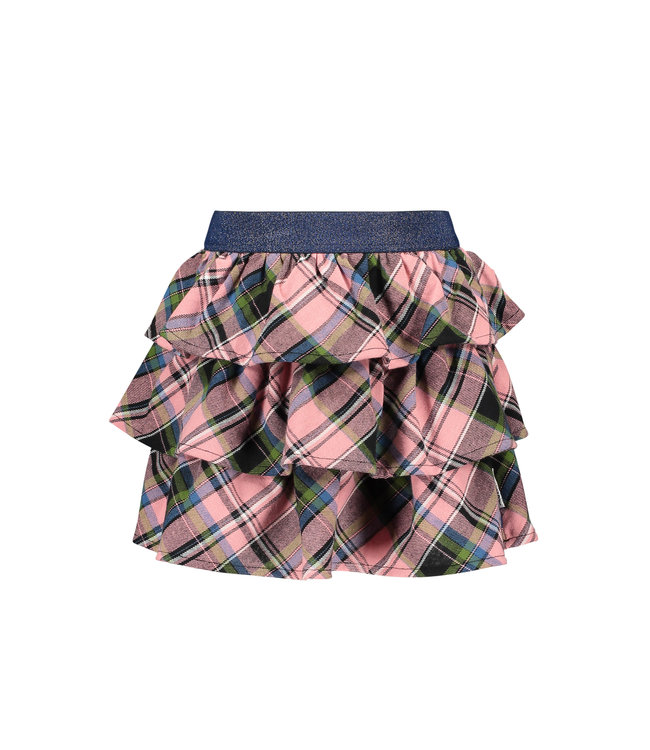 B.Nosy B-nosy Girls 3-layer skirt with check ao warrior candy check Y109-5752 267
