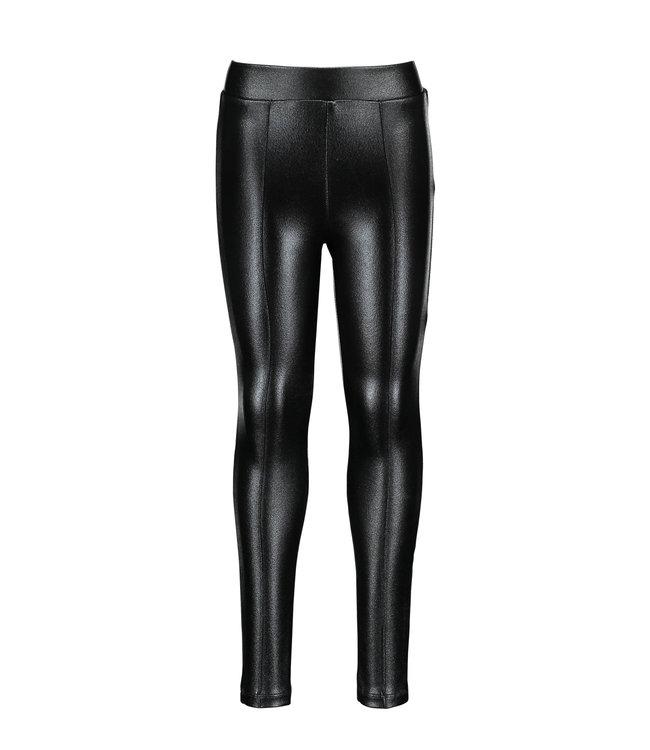 B.Nosy B-nosy Girls black coated pants Black Y109-5672 099