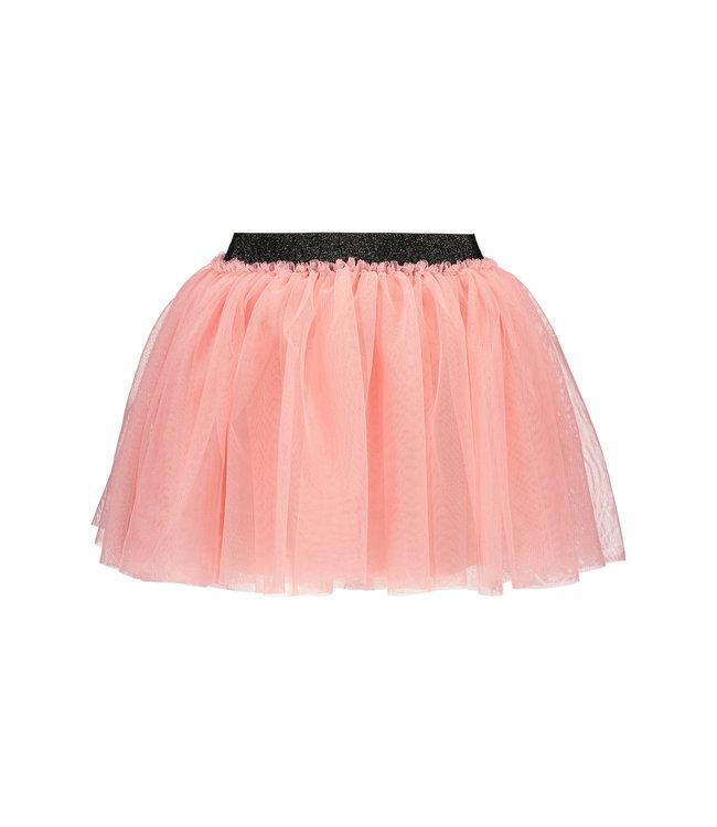 B.Nosy B-nosy Girls solid mesh skirt punch pink Y109-5771 228
