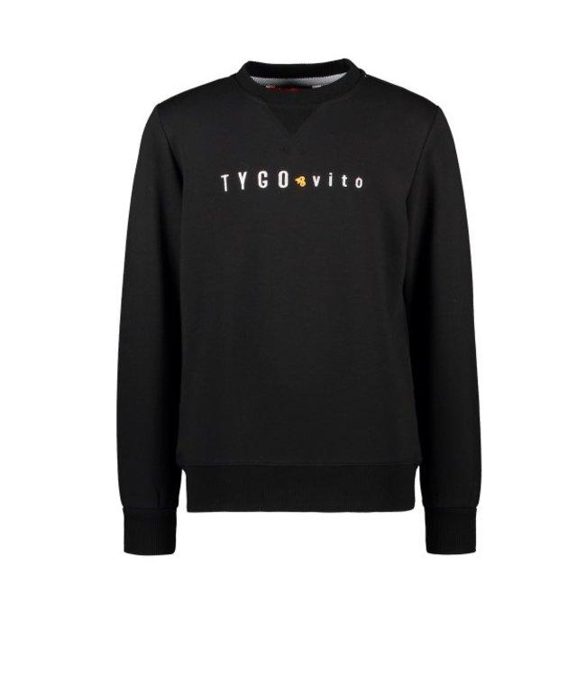 Tygo & Vito T&v sweater TYGO & vito embro Black X109-6320 099