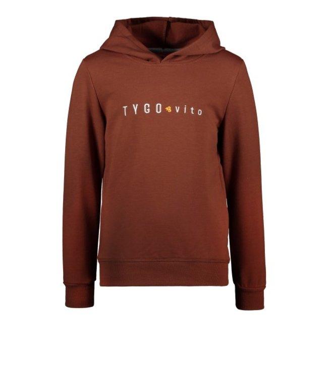 Tygo & Vito T&v hoody TYGO & vito embro Clay Brown X109-6327 420