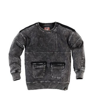 Z8 Z8 Kids Boys Chiel Sweaters Stonewash black