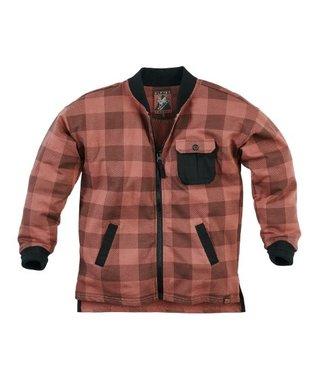 Z8 Z8 Kids Boys Sjakie Long sleeves Red rust/Check
