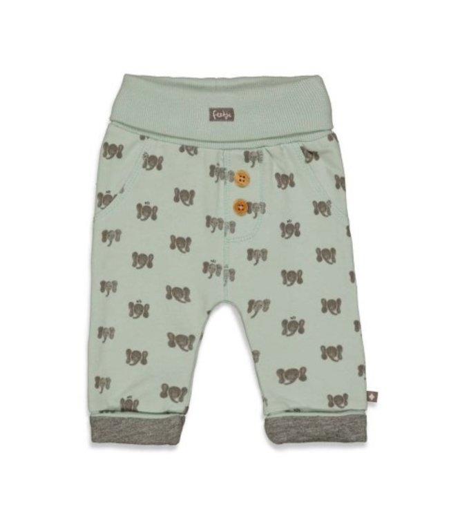 Feetje Feetje Broek AOP - Hi Elephant Mint 52201712