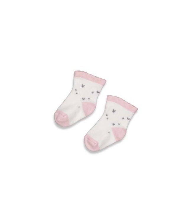 Feetje Feetje Sok - Cutest Thing Ever Offwhite 50400157