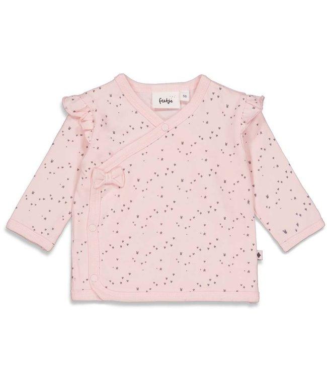 Feetje Feetje Overslagshirt - Cutest Thing Ever Roze 51601739