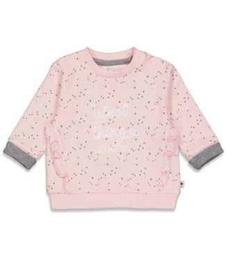 Feetje Feetje Sweater Cutest AOP - Cutest Thing Ever Roze 51601742