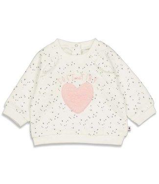 Feetje Feetje Sweater AOP - Cutest Thing Ever Offwhite 51601744