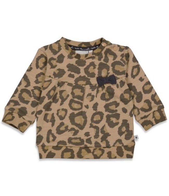 Feetje Feetje Sweater AOP - Made Of Dreams Zand 51601846