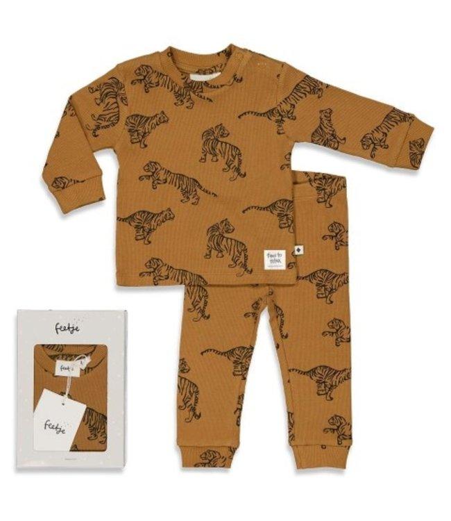 Feetje Feetje Tiger Terry - Premium Sleepwear by FEETJE CAMEL 505.00054 455