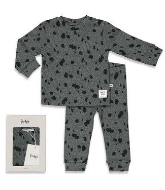 Feetje Feetje Spotted Sam - Premium Sleepwear by FEETJE GRIJS MELANGE 505.00052 665