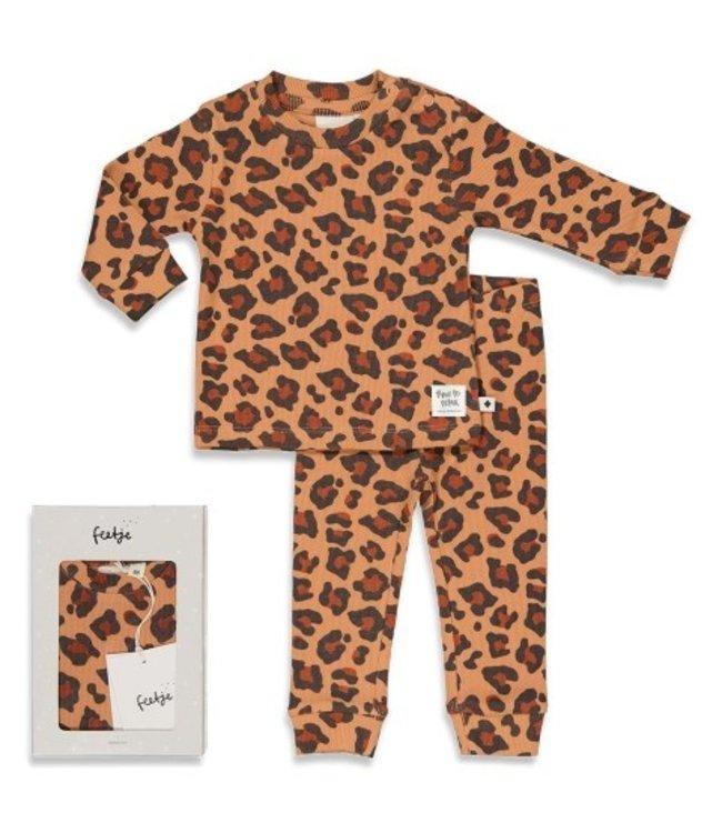 Feetje Feetje Leopard Lee - Premium Sleepwear by FEETJE HAZELNOOT 505.00050 440