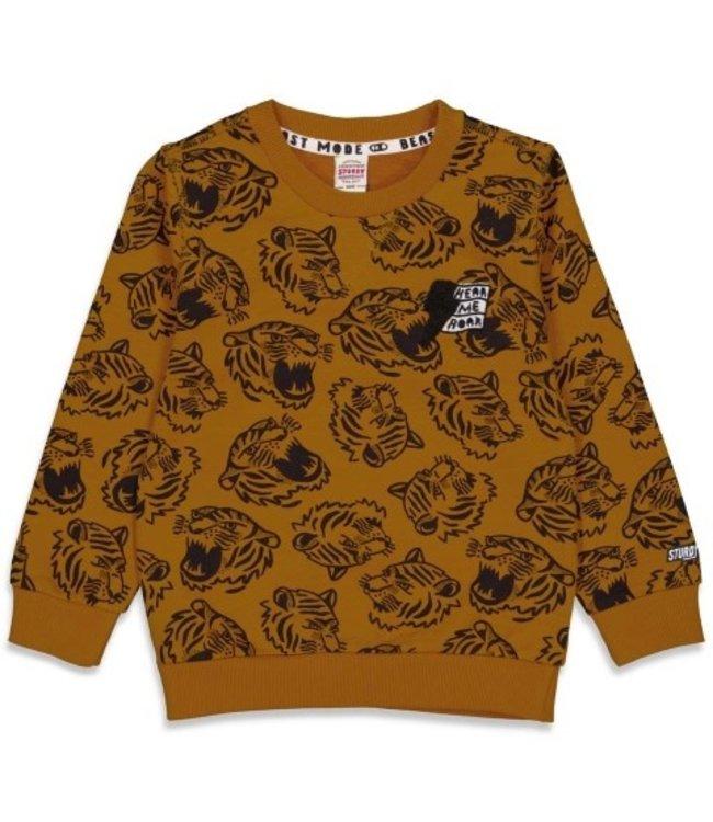 Sturdy Sturdy Sweater AOP - Wild Things Okergeel 71600464